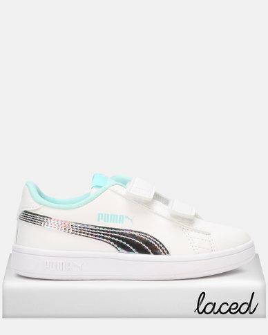 Puma Smash v2 Mermaid V PS Sneakers White