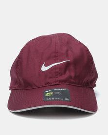 Nike Performance U Dry Arobill FTHLT Cap Maroon