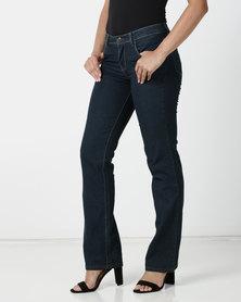 Contempo Core Basic Denim Jeans Navy
