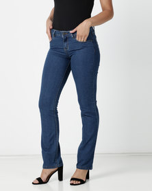 Contempo Core Basic Denim Jeans Blue