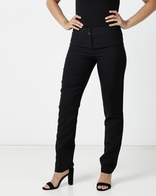 Contempo Mec Slim Leg Pant Black