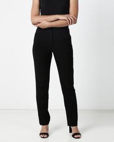 Contempo Pv Slim Leg Pant Black