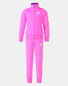 Nike G NSW Tracksuit Tricot Pink