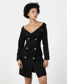 Utopia DB Blazer Dress Black