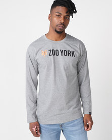 Zoo York Core Longsleeve Tee Grey