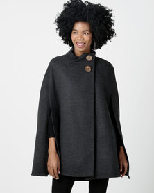 RusTiq Clara Cape Grey - One Size