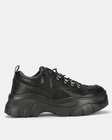 Public Desire Biggie Sneakers Black