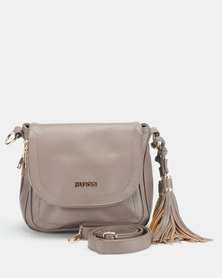 Bossi Pebble Crossbody Bag Taupe