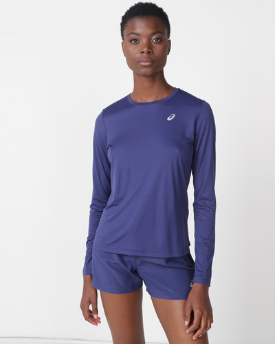 54586011 Nike Performance W NK Tailwind Long Sleeve Top Black | Zando