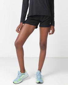 ASICS Silver 4 INCH Shorts Black