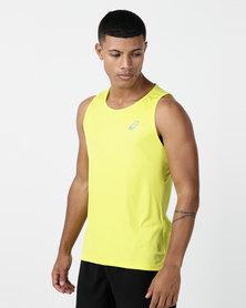 ASICS Silver Singlet Yellow