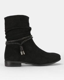 Utopia Shuffle Boots Black