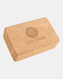 Earth Warrior Cork Yoga Block