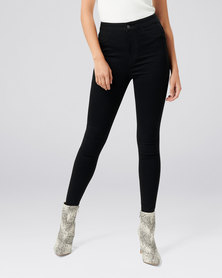 Forever New Madison High Rise Jegging Night Black