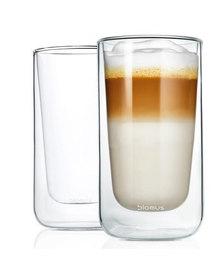 blomus Nero Insulated Latte Macchiato & Tea 320 ml Glasses Set of 2