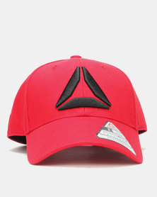 Reebok Performance Active Enhance Baseball Cap Red
