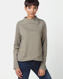 Rip Curl Moonlight Sweater Green