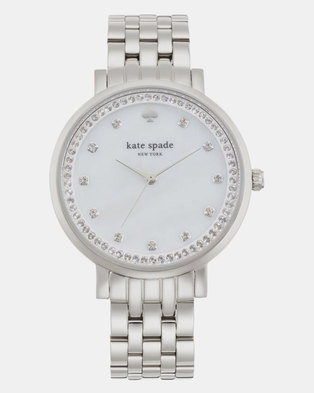 KATE SPADE Monterey Stainless Steel Watch Silver