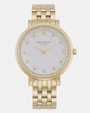 KATE SPADE Monterey Stainless Steel Watch Gold