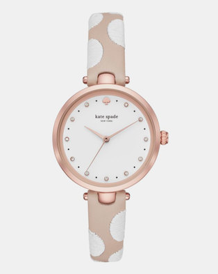 KATE SPADE New York Dotted Watch Nude