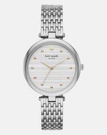 KATE SPADE Varick Silver Dial Ladies Watch Silver