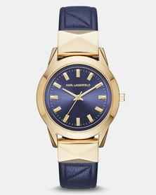 KARL LAGERFELD Watch Blue