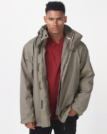 Jeep 3-In-1 Technical Jacket Olive