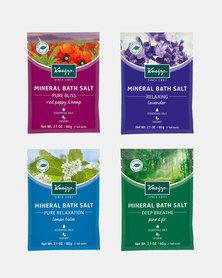 Kneipp Festive Mineral Bath Salt Set (4 x 60 g)