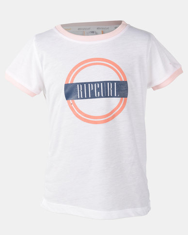 Rip Curl Girls Dawn Break Pink T-shirt