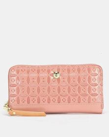 Polo Berkeley Zip Around Purse Pink
