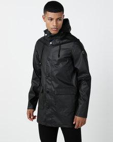 Cutty Matrix Parka Jacket Black