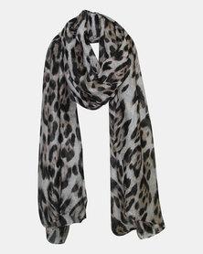Leopard Print Fashion Scarf