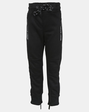 Soviet Boys Compton Track Pants Black