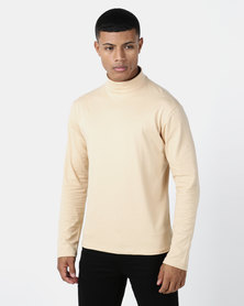 Utopia Basic Knit Poloneck Oatmeal