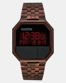 Nixon  Re-Run Watch Antique Copper