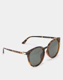 UNKNOWN EYEWEAR Anna Polarized Sunglasses Black