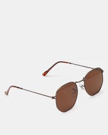 UNKNOWN EYEWEAR Tomison Sunglasses Copper