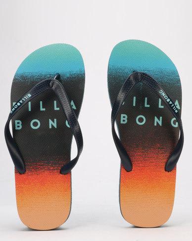 Billabong Faded Thong Navy/Orange