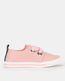Candy Basic Ribbon Sneakers Pink