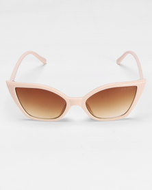 Bad Girl Sweet Tooth Sunglasses Nude