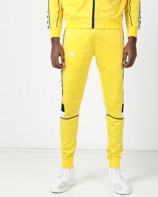 Kappa 222 Banda Mems SF Pants Yellow