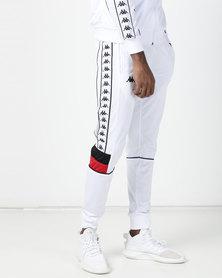 Kappa 222 Banda Mems SF Pants White