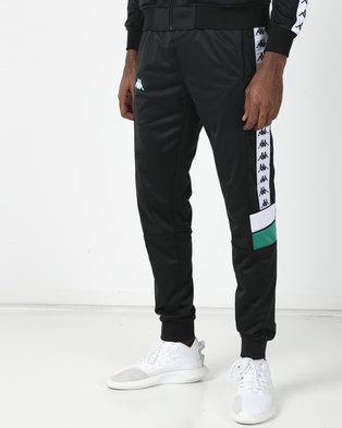 Kappa 222 Banda Mems SF Pants Black