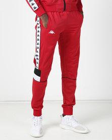 Kappa 222 Banda Mems SF Pants Red