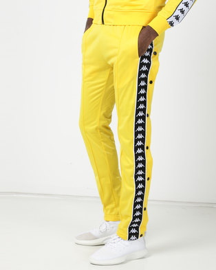 Kappa 222 Banda Astoria SPants Yellow