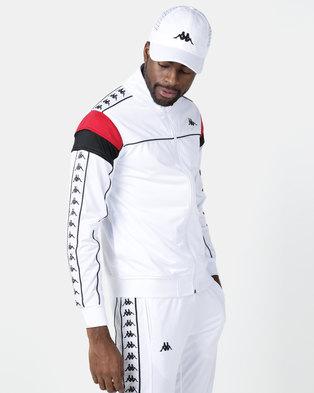 Kappa 222 Banda Merez SF Jacket White