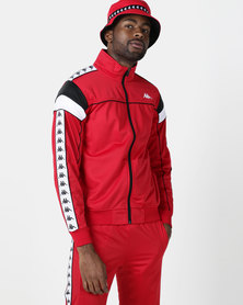 Kappa 222 Banda Merez SF Jacket Red