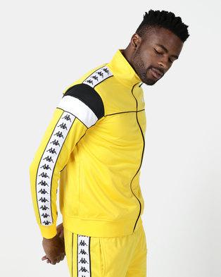 Kappa 222 Banda Merez SF Jacket Yellow