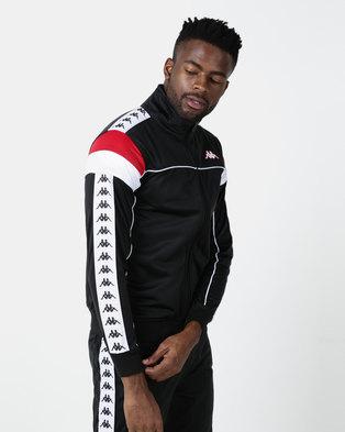 Kappa 222 Banda Merez SF Jacket Black