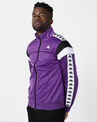 Kappa 222 Banda Merez SF Jacket Purple